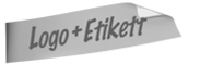 Logo + Etikett